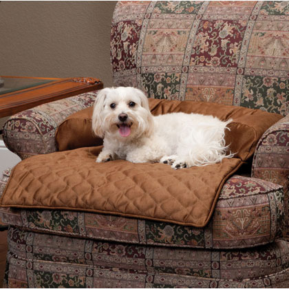 Solvit Sta-Put Bolstered Pet Furniture Protector (Click for Larger Image)
