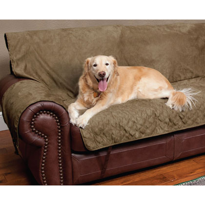Solvit Sta-Put Full-Coverage Pet Loveseat Protector (Click for Larger Image)