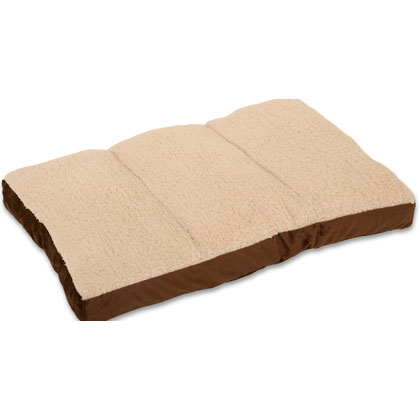 Image of Brown Mat Bed 29x20x5 by Pioneer Pet