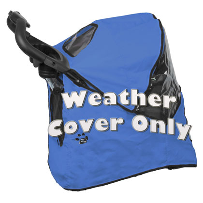 Happy Trails Pet Stroller Weather Cover (Click for Larger Image)