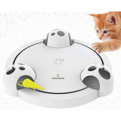 FroliCat Pounce Rotating Teaser Toy for Cats (Click for Larger Image)