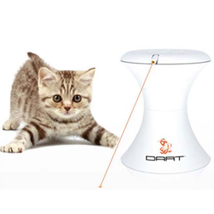 FroliCat Dart Interactive Rotating Laser Toy for Cats (Click for Larger Image)