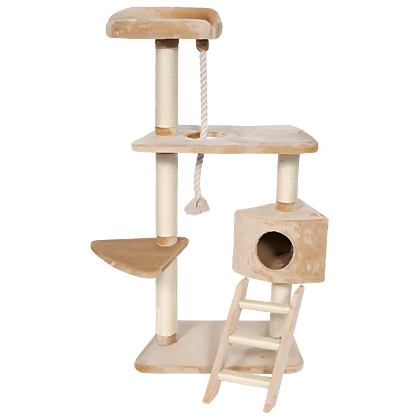 Whisker World Cat Tree Condo (Click for Larger Image)
