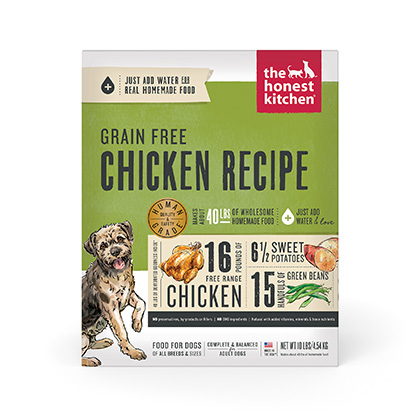 The Honest Kitchen Force Grain Free Chicken Dehydrated Dog Food (Click for Larger Image)
