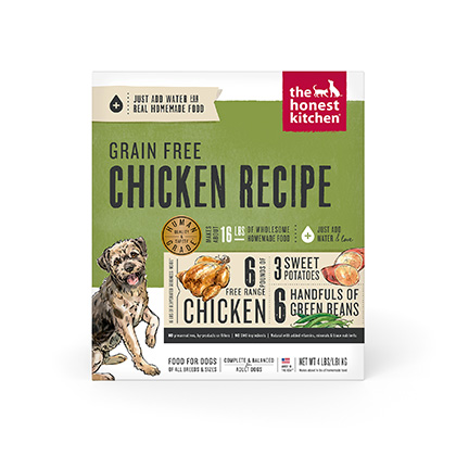 The Honest Kitchen Force Grain Free Chicken Dehydrated Dog Food 4 lb by 1-800-PetMeds 61043