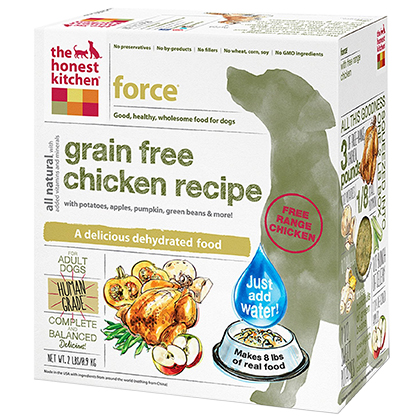 The Honest Kitchen Force Grain Free Chicken Dehydrated Dog Food 2 lb by 1-800-PetMeds 61044