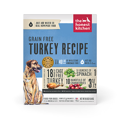 The Honest Kitchen Embark Grain Free Turkey Dehydrated Dog Food (Click for Larger Image)
