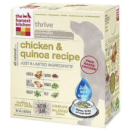 The Honest Kitchen Thrive Chicken & Quinoa Dehydrated Dog Food 4 lb by 1-800-PetMeds 61049