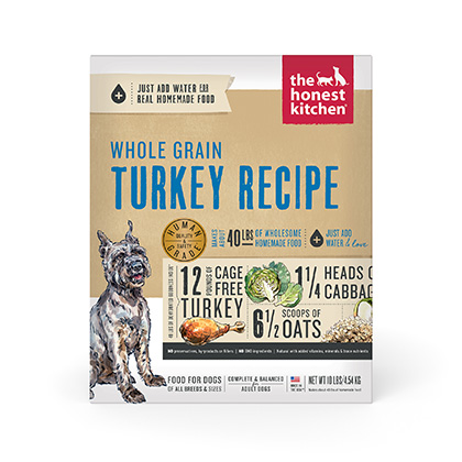 The Honest Kitchen Keen Turkey & Whole Grain Dehydrated Dog Food (Click for Larger Image)