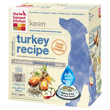 The Honest Kitchen Keen Turkey & Whole Grain Dehydrated Dog Food 2 lb by 1-800-PetMeds 61052
