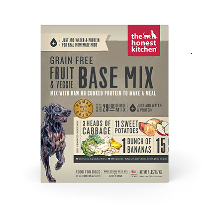 The Honest Kitchen Preference Grain Free Base Mix Dehydrated Dog Food (Click for Larger Image)