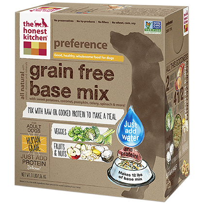 The Honest Kitchen Preference Grain Free Base Mix Dehydrated Dog Food 3 lb by 1-800-PetMeds 61054
