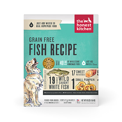 The Honest Kitchen Zeal Grain Free Fish Dehydrated Dog Food (Click for Larger Image)