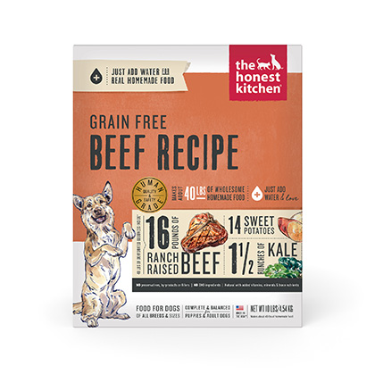 The Honest Kitchen Love Grain Free Beef Dehydrated Dog Food (Click for Larger Image)