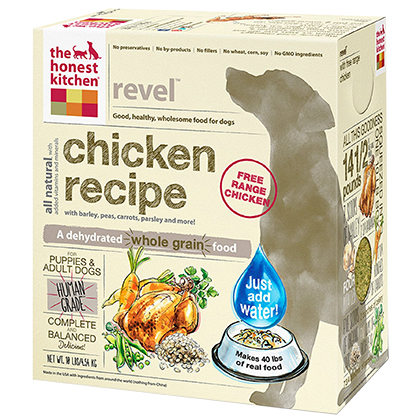 The Honest Kitchen Revel Chicken & Whole Grain Dehydrated Dog Food (Click for Larger Image)