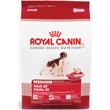 royal canin medium adult 25 dry dog food 1800petmeds. Black Bedroom Furniture Sets. Home Design Ideas