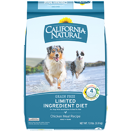 California Natural Limited Ingredient Diet Grain Free Adult Dry Dog Food (Click for Larger Image)