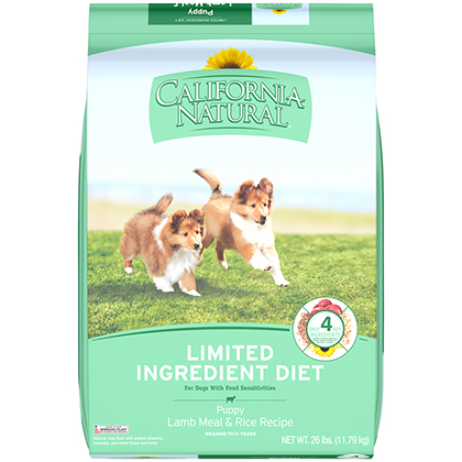 California Natural Pure & Simple Dry Puppy Food (Click for Larger Image)