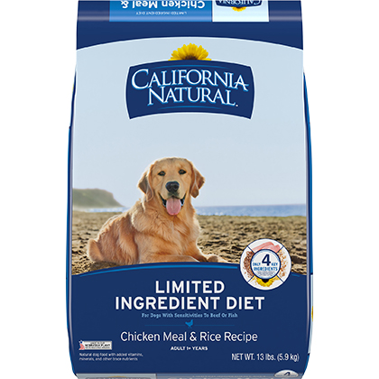 California Natural Limited Ingredient Diet Adult Dry Dog Food (Click for Larger Image)