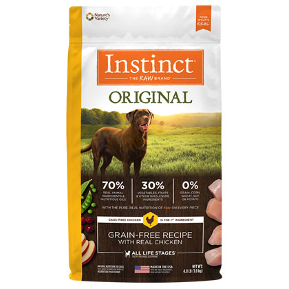 Nature's Variety Instinct Chicken Meal Formula Dry Dog Food (Click for Larger Image)