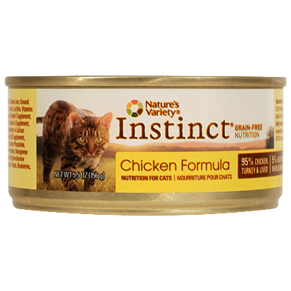 Nature's Variety Instinct Canned Cat Food (Click for Larger Image)