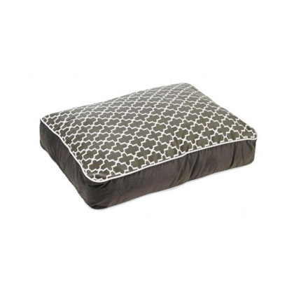 Bowsers Designer Dog Bed Large Graphite by Bowsers