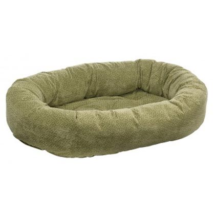 Donut Bed Extra Large Green Apple Bones by Bowsers