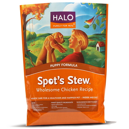 Halo Spot's Stew Puppy Dry Dog Food (Click for Larger Image)
