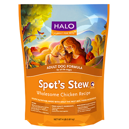 Halo Holistic Adult Dry Dog Food (Click for Larger Image)