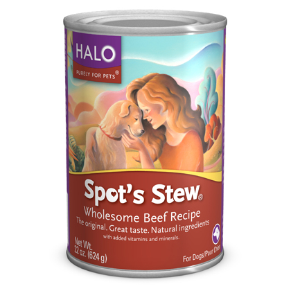 spot stew canned dog food