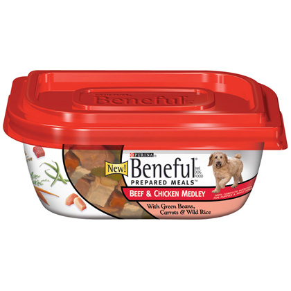 Beneful Beef & Chicken Medley 8/10oz Tubs