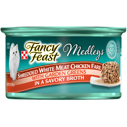 Fancy Feast Elegant Medley Shredded Fare (Click for Larger Image)
