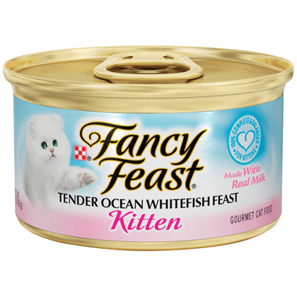 Fancy Feast Gourmet Kitten Food (Click for Larger Image)