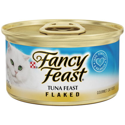 Fancy Feast Flaked Cat Food (Click for Larger Image)