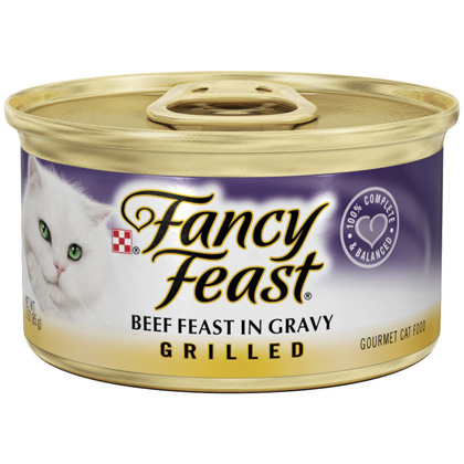 Fancy Feast Grilled Cat Food (Click for Larger Image)