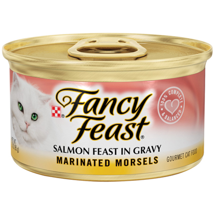 Fancy Feast Marinated Morsels Cat Food (Click for Larger Image)