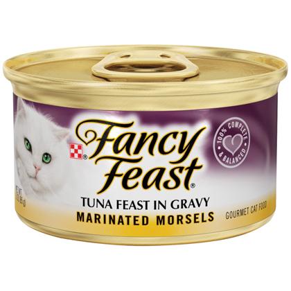 Fancy Feast Marinated Morsels Cat Food Tuna Feast in Gravy 2