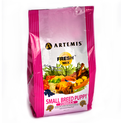 Artemis Fresh Mix Small Breed Puppy Dry Dog Food (Click for Larger Image)
