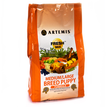 Artemis Fresh Mix Medium/Large Puppy Dry Dog Food (Click for Larger Image)