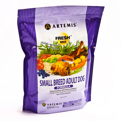 Artemis Fresh Mix Small Breed Adult Dry Dog Food (Click for Larger Image)
