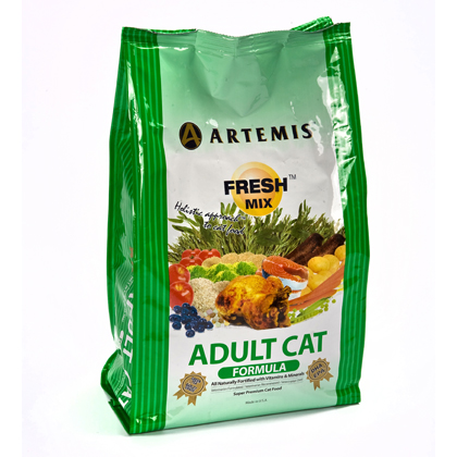 Artemis Fresh Mix Adult Cat Dry Food (Click for Larger Image)