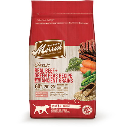 Merrick Classic Dry Dog Food (Click for Larger Image)