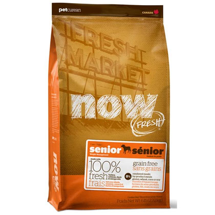 Now Fresh Grain Free Senior Recipe 6lb