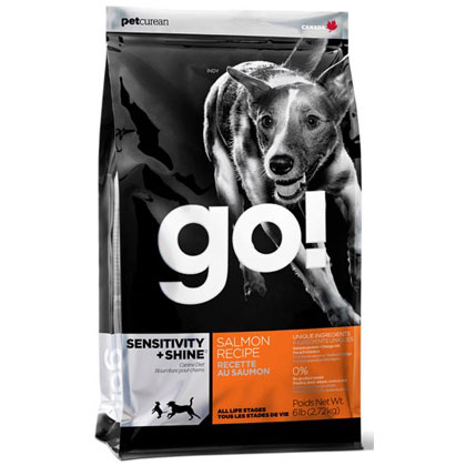 Go! Sensitivity + Shine Salmon Recipe Dry Dog Food (Click for Larger Image)