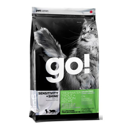 Go! Sensitivity + Shine Grain Free Freshwater Trout Recipe 4