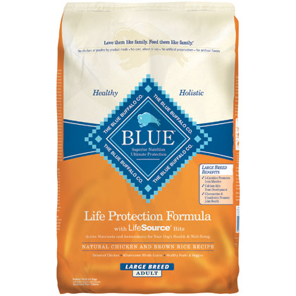 Blue Buffalo Large Breed Adult Dry Dog Food (Click for Larger Image)