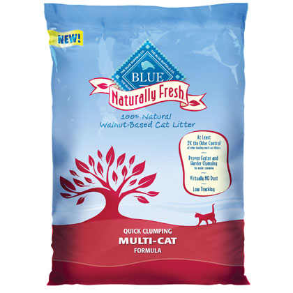 Blue Buffalo Naturally Fresh Multi-Cat Clumping Litter (Click for Larger Image)