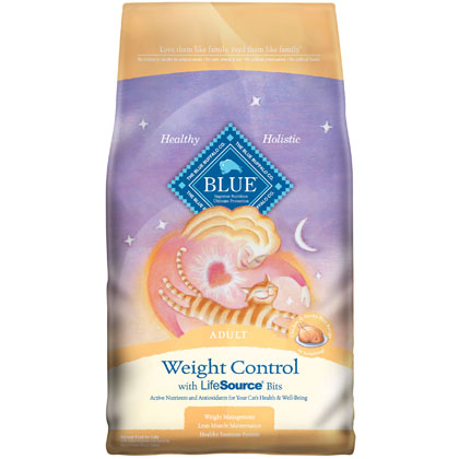 Blue Buffalo Weight Control Dry Cat Food (Click for Larger Image)