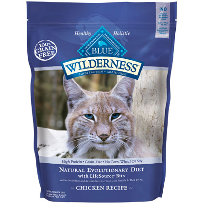 Blue Buffalo Wilderness Dry Cat Food (Click for Larger Image)