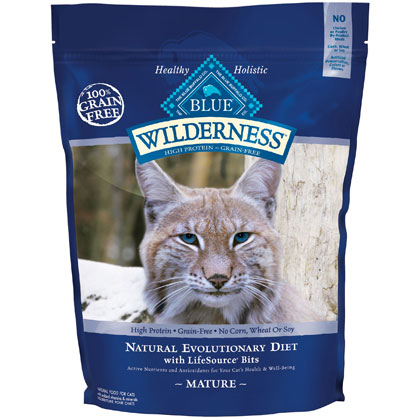 Blue Buffalo Wilderness Mature Dry Cat Food (Click for Larger Image)